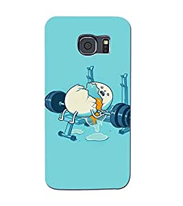 FIXED PRICE Printed Back Cover for Samsung S6