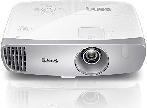 Benq W1110 Proiettore DLP, Ruota Colori a 6 Segmenti, Bassa Rumorosità, Bianco