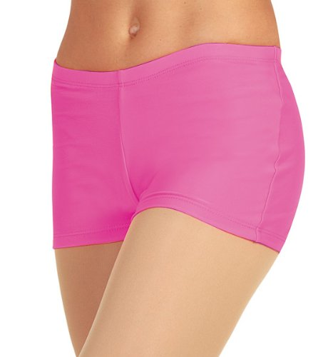 Adult Booty Short,N8365FUCS,Fuchsia,Small
