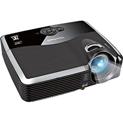 ViewSonic PJD6243 300-Inches 1080p XGA 1024x768 DLP Projector, 3200 ANSI Lumens, 3000:1 contrast ratio, HDMI, 120Hz/3D-Ready -Black