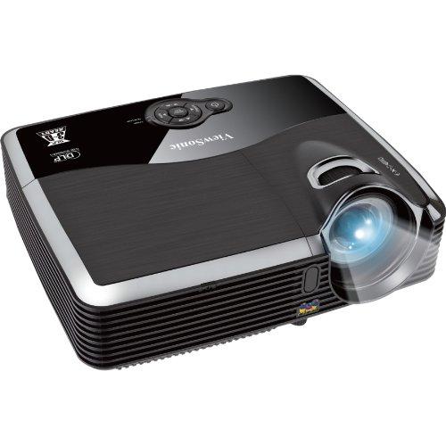 ViewSonic PJD6243 300-Inches 1080p XGA 1024x768 DLP Projector, 3200 ANSI Lumens, 3000:1 contrast ratio, HDMI, 120Hz/3D-Ready -Black