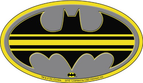 Batman DC Comics Striped Logo Sticker - 1