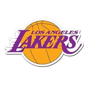 Amazon.com: LOS ANGELES LA LAKERS - NBA Basketball - Sticker Decal - #