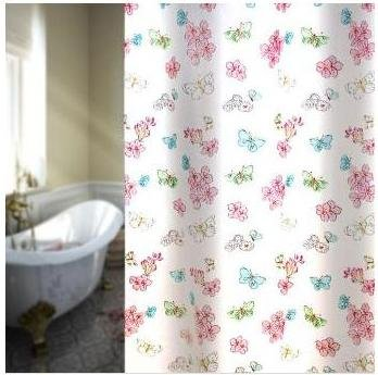 Asian Sweet Shower Curtain 100 PEVA Eco Friendly Approx Size 72x72 Inches