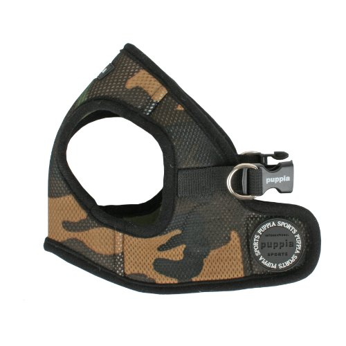 Puppia Vest Dog Harness Camo Large