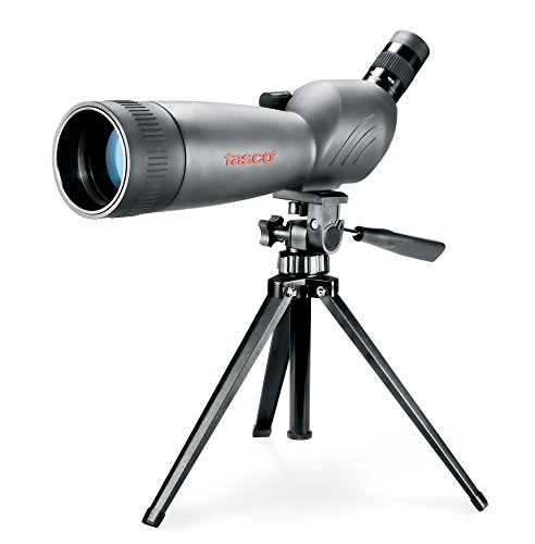 Tasco World Class 20-60x60 Zoom Spotting Scope w/Mountable Tripod & 45 degree EP