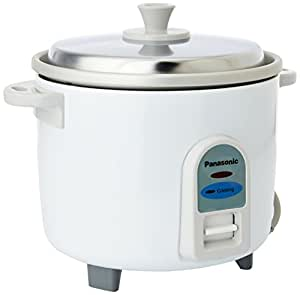 Panasonic SR-WA10 450-Watt Automatic Cooker Without Warmer - 0.5 Litre