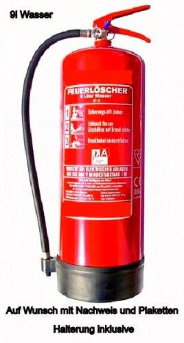 Feuerlscher-9L-Wasser-EN3-Norm-Lschleistung-21A