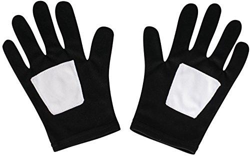 Rubie's Marvel, Ultimate Spider-Man Black Child Gloves (Black Marvel compare prices)