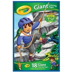 Crayola Giant Coloring Pages Diego Ultimate Rescue League