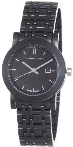 Burberry Women's BU1871 Ceramic Black Dial Bracelet Quartz Watch