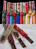 SODIAL(TM) 10 Pairs Chinese Bamboo Chopsticks