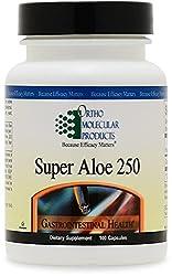 Ortho Molecular - Super Aloe 250 - 100 Capsules