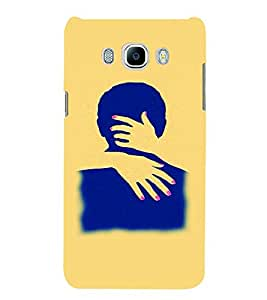 PrintVisa Hot & Sexy Couple 3D Hard Polycarbonate Designer Back Case Cover for Samsung Galaxy On8