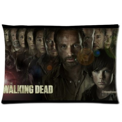 "Perfect Arts Hot Series Walking Dead Unique Custom Zippered Pillow Cases ""20X30"" Inches (Two Sides)"