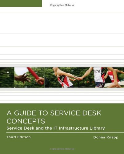 A Guide to Service Desk Concepts , Third Edition