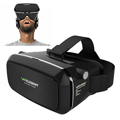 ELEGIANT Universal 3D VR Einstellbar Virtual Reality Brille Karton Video Movie Game...