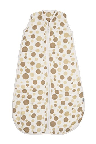 Baby Muslin Summer Sleeping Bag approx. 0.5 Tog - Circles - various sizes