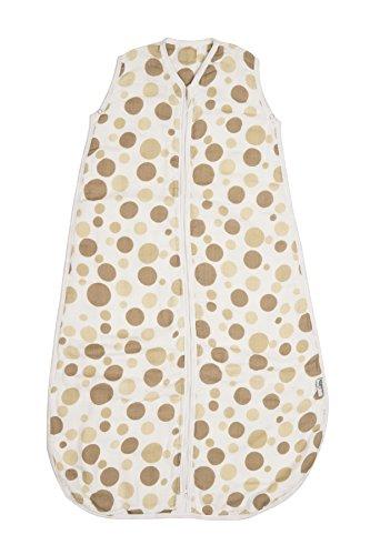 Baby Muslin Summer Sleeping Bag approx. 0.5 Tog - Circles - various sizes - 1
