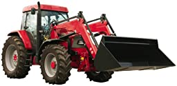 Wallmonkeys WM314039 Red Tractor Peel and Stick Wall Decals (12 in W x 6 in H)