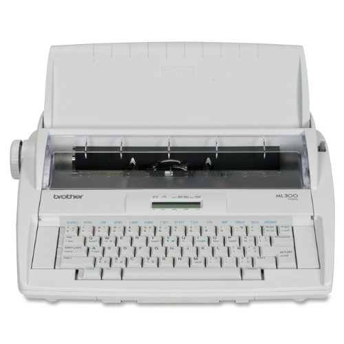 Brother Ml-300 Electronic Display Typewriter - Retail Packaging
