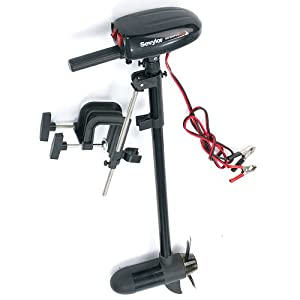 Sevylor electric trolling motor for small boats boat for Electric outboard motors for sale