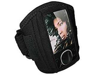 Sporty Armband with Velcro Enclosure for Zune 80gb 120 GB
