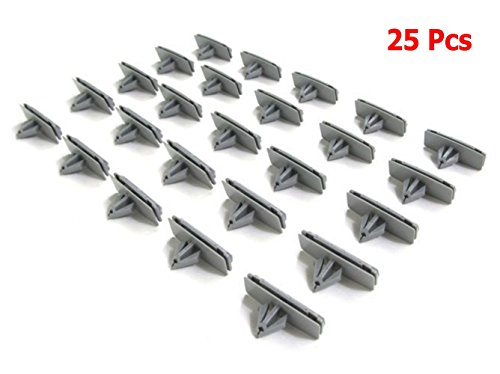 EVINIS 25 Pcs Chrysler Fender Flare Moulding Clips Jeep Liberty Rocker 55157055-AA, 55157065-AA (Fender Flare Jeep Liberty compare prices)