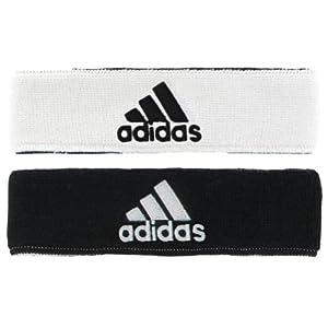 adidas Men's Interval Reversible Headband, White/Black/Black/White, One Size
