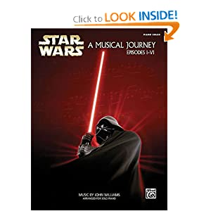 Star Wars - A Musical Journey Episodes I-VI - Piano Solos John Williams