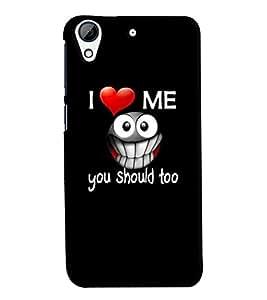 MakeMyCase love me case For HTC 728