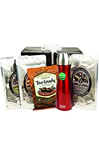 Boca Java Roast to Order Coffee & Gourmet Tea, Tea Lover's Premium Collection Tea Gift Set