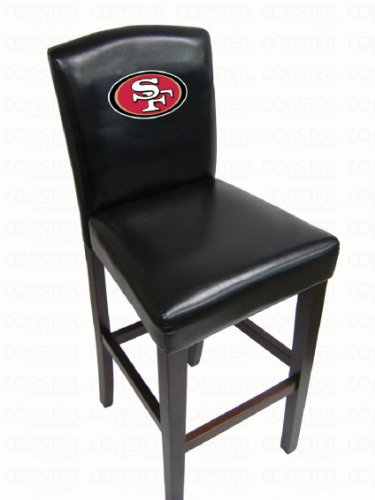 49ers Bar Stool Pub Chair at Amazon.com