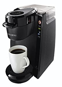 Mr. Coffee BVMC-KG5-001 Single Serve Coffee Brewer Powered by Keurig Brewing Technology, Black Picture