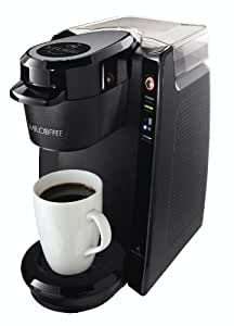 Mr. Coffee Single Serve Coffee Brewer BVMC-KG5-001, 24-Ounce, Black