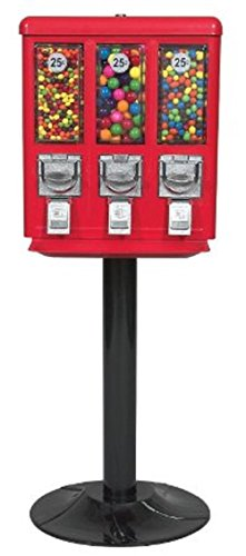 Triple Vend Candy & Gumball Vending Machine