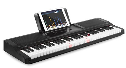 Buy Cheap The ONE Light Keyboard 61-Key Portable Keyboard Piano Electronic MIDI Keyboard - Onyx Blac...