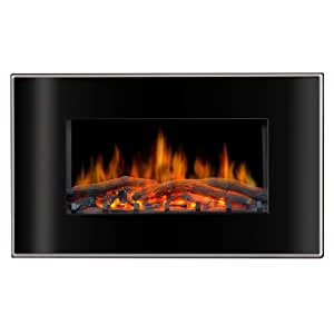 Lofty Bg03fb Valencia Wall Mount Electric Fireplace 35 4 By By 8 Inch Kitchen