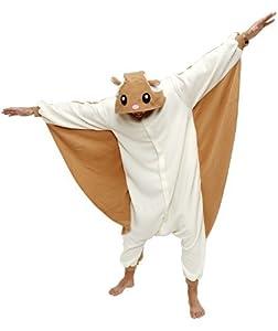 Flying Squirrel Kigurumi - Adult Halloween Costumes Pajama