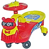 Babysid Collections Shake & Go Ride On - Red - With Music