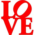 LOVE - Vinyl Wall Decal (Small)