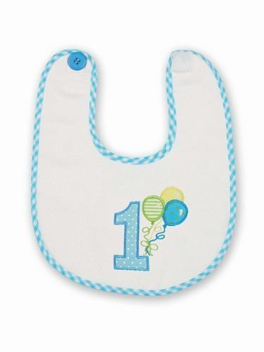 His 1st Birthday Bib from Bearington Baby Collection