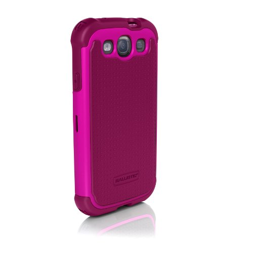 Ballistic SG0930-M065 SG Case for Samsung Galaxy SIII – 1 Pack – Retail Packaging – Ruby Wine/Dark Wine