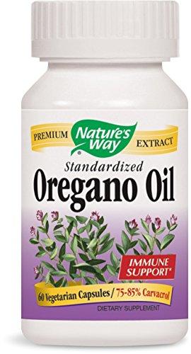 Nature's Way Oregano Oil, 60 Liquid Vcaps