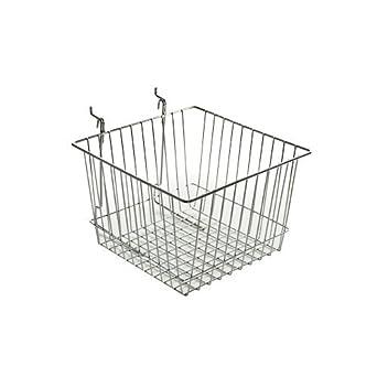 300622 cesta de alambre, Chrome: Amazon.com: Industrial