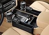 KMMOTORS コインの収納もできる車内収納ポケット コインサイドポケット(プライウッド/ホルダー有/助手席/ブラック)