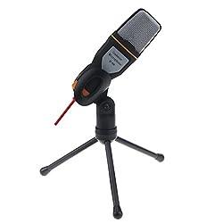 Imported Pro Audio Dynamic Condenser Sound Recording Microphone Mic Studio Black