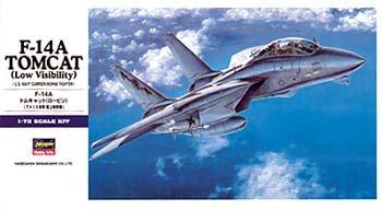 F-14A Tomcat Low Vis 1/72 Hasegawa