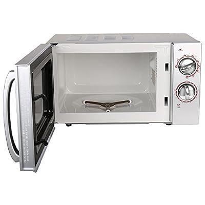 Kenstar KM20GSCN 17-Litre Grill Microwave Oven (Silver/Black)