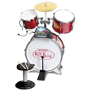 Bontempi Drum Set with Tutor